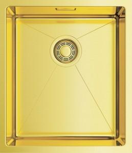 Мойка OMOIKIRI Taki 38-U/IF-LG светлое золото