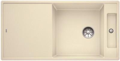 Мойка BLANCO AXIA III XL 6 S жасмин, доска стекло c кл.-авт. InFino®